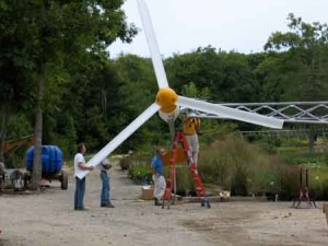Sylvan Nursery - small-scale wind energy project