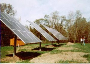 Whispering Pines Fish Farm - solar electric